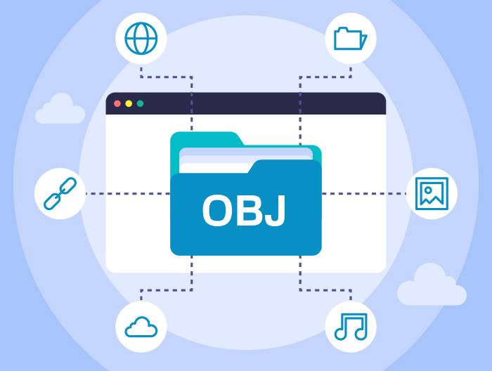 OBJファイル拡張子